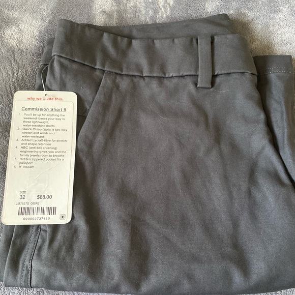 lululemon athletica Other - Men's commission shorts